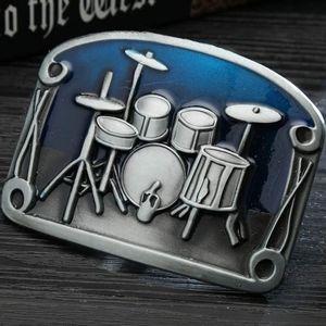 Drums drummer belt buckle